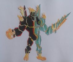 Diamondheat Ben 10000 by Kamran10000 on DeviantArt