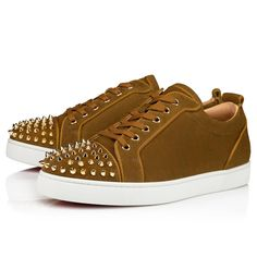 Christian Louboutin, Christian Dior, Style Audacieux, Casual Shoes, High Tops, High Top Sneakers, Fashion, Red Sole, Calf Leather