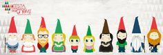 10 #gnomi, 10 nomi ed 1 #sorpresa per voi! #adottaunognomo e scegli il nome del tuo personaggio di #gnominfesta2015  #bambini #gnomi #fantasy #design #abruzzo #teatro
