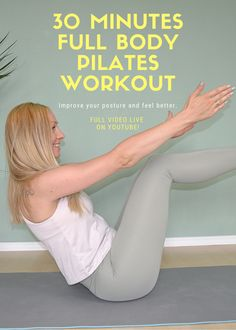 Pilates At Home, Pilates Body, Pilates Workout, Exercise, Pilates Instructor, Selfish, Feel Better, Full Body, Improve Yourself