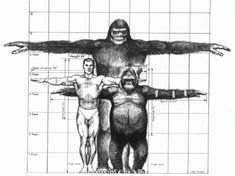 Gigantopithecus+Still+Alive | standing about ten feet Gigantopithecus is said to might have lived ...