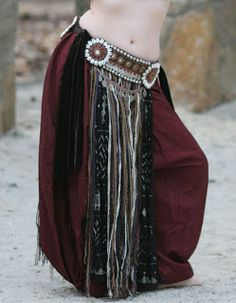 Diaries of a Bellydance Addict - Sara Beaman's blog: How I made my belt, and how you can make your own.