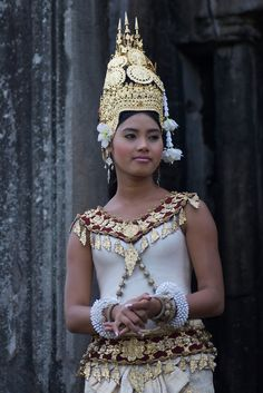 Cambodian (Khmer) - Kampuchea, Officially Know as Kindom of Cambodia