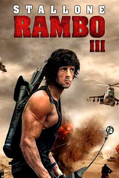 New Movies To Watch, Great Movies, Sylvester Stallone Rambo, Rambo 3, Stallone Movies, Rocky Series, Andre Luis, Stallone Rocky, Silvester Stallone