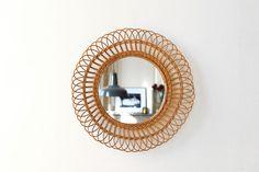 Miroir fleur | Fresh and Vintage | Mobilier vintage pour les enfants | Lyon Croix-Rousse