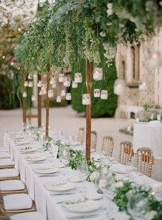 Stylish outdoor wedding decoration from South of France, Lavender & Rose