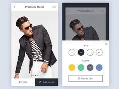 Ecommerce App  Product Details by Maxim Osichka