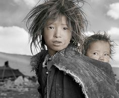 People of Tibet by Phil Borges