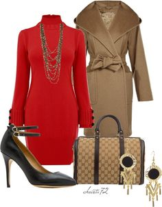 """""""Sweater Dress 2"""" by christa72 on Polyvore"""