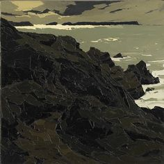 "yama-bato: "" Sir Kyffin Williams Cliffs """