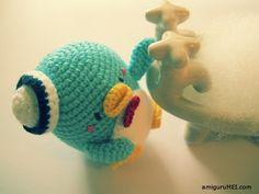 Free amigurumi pattern: Tuxedo Sam crochet plushie cute