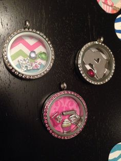 Living locket floating locket origami owl backplate by OMJCouture, $1.00