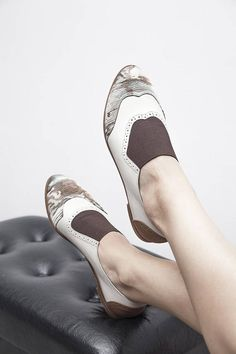 wholesale dealer 64bc8 e3dbf Jekyll Hyde - Brown - FREE SHIPPING - Handmade Leather Women Flat Shoes  2018 Summer Collection