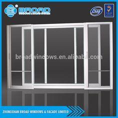 Modernes design aus aluminium fenster und türen, aluminium glastür und fensterrahmen für büro