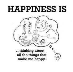 All the things that make me happy