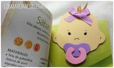 Marcalibros bebé Baby Shower