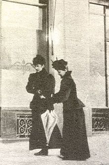 Last photo taken of Empress Elisabeth of Austria before her assassination in 1898. The tightness of her corset enabled her to walk and talk for awhile though she had been stabbed in the heart with a small blade.