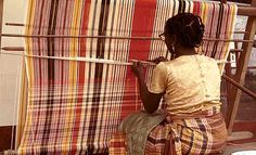 "Akwete cloth is a special woven fabric by Igbo women in Akwete area near Aba in Abia State. It is originally referred to as ""Akwa Miri"" (Cloth of the water) meaning towel. Akwete cloth weaving is said to be as old as the Igbo nation."