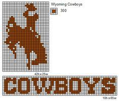 Wyoming Cowboys by cdbvulpix on DeviantArt Cross Stitch Horse, Cross Stitch Kits, Cross Stitch Designs, Cross Stitch Patterns, Bead Loom Patterns, Beading Patterns, Perler Patterns, Beading Ideas, Plastic Canvas Crafts