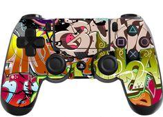 £2.99 GBP - Graffiti Playstation 4 (Ps4) Controller Sticker / Skin / Wrap / Ps4 #ebay #Electronics