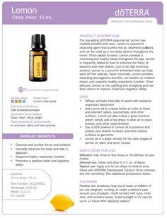 doterra tea tree uses | doTERRA Lemon Essential Oil 15 ml - My Natural Family