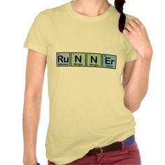 Runner made of Elements T-shirts