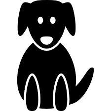 Resultado de imagen para silueta de perro