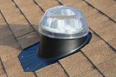 Solatube on a roof