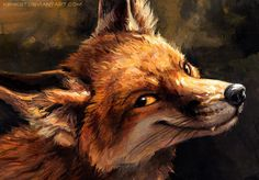 Trouble In Mind by kenket on DeviantArt Animal Drawings, Art Drawings, Fox Tattoo Design, Fuchs Tattoo, Girl Faces, Fox Drawing, Fox Girl, Creatures Of The Night, Red Fox