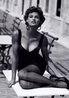 Linda Evangelista for Vogue US April 1992