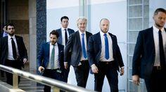 Wilders onderweg naar verkenner Schippers.