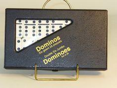 Double 6 White Dominoes. #boardgames #familyboardgames