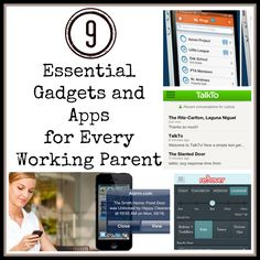9 Essential Gadgets and Apps for Every Working Parent
