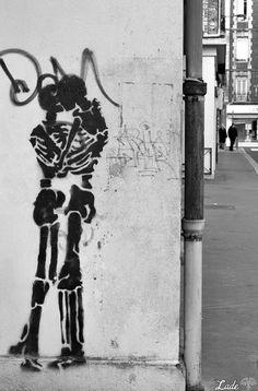 Eternel Amour - street art à Rouen