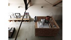 Ochre Barn in Norfolk, England: Ochre Barn is a multi purpose development: it houses a retreat, studio space and private residential accommodation for architect Carl Turner and his partner Mary Martin.