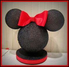 minnie mouse cake decorations | minnie mouse cake topper from raeofsunshinedesign
