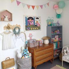 kids room Chambre d'Elyah www.monshopvintage.com