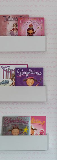 Sissy and Marley pink nursery books