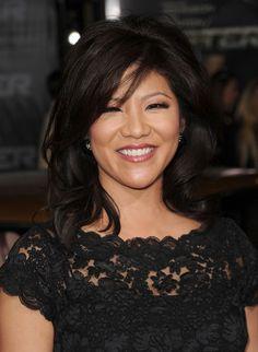 Julie Chen: Cute curls for medium hair!