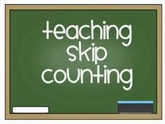 math skip counting activities