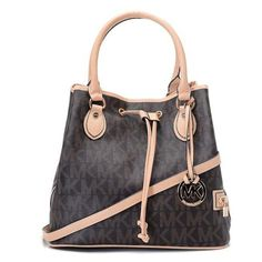 Welcome To Our Michael Kors Logo Drawstring Large Coffee Totes Online Store