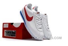 best service 3b24e 44ce4 NIKE CORTEZ NYLON PRM White Blue Red Super Deals BiB4r