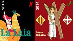 Santa Eulàlia · Patrona de Barcelona