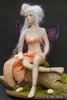 Fairy Ooak doll polymer clay