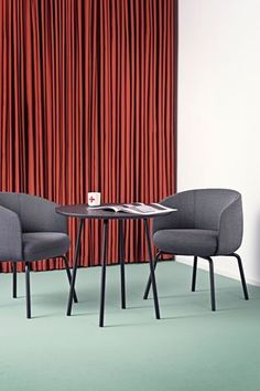Low Nest Chair and Table by Form Us With Love for +Halle