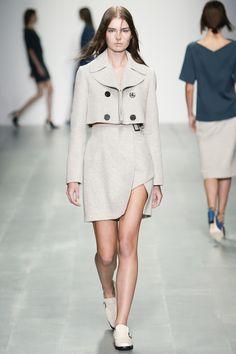 Marios Schwab printemps-été 2015 #mode #fashion