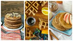 My Multigrain Pancake & Waffle Mix plus three #vegan recipes (Apple Cinnamon Buttermilk Pancakes, Triple Orange Poppyseed Waffles, & Brownie Pancakes) could use your vote! Head over to @cannedtime to cast yours!