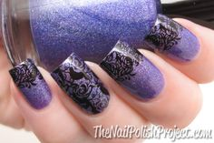 Review: BundleMonster Plate Holder and another stamping NOTD