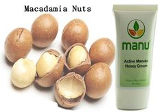The Macadamia nut oil used in Manuka honey cream has high nutritional value and benefits for healthy skin and hair.