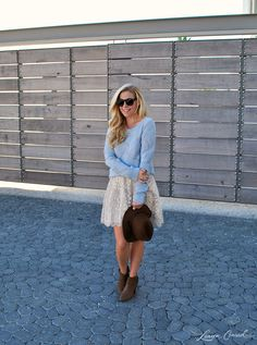 Read on to see two chic ways to style this cute LC Lauren Conrad dress...